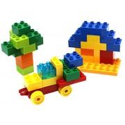 Little Treasures Sweet Home Building block 40 pieces Compatible Building toy set for Preschooler Kids