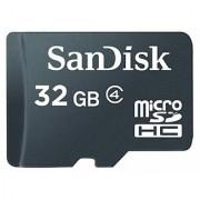 Sandisk Microsdhc 32Gb Flash Memory Card Black Sdsdqm-032G-B35 - Retail Packaging