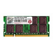 Transcend JM800QSU-2G Ram DDR2 SO-DIMM 200PIN 800Mhz per Notebook 2Gb