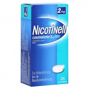 Nicotinell 2mg Mint Lutschtabletten 36 Stück
