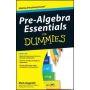 Pre-algebra Essentials for Dummies by Mark Zegarelli