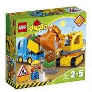 LEGO - 10812 - Le Camion et La Pelleteuse