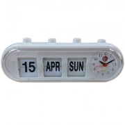 GMH Retro Capsule Manual Alarm Clock - White