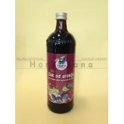 Hladno cedjeni matični sok od aronije Bio 0,7l (organski proizvod)
