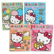 Hello Kitty Coloring Book 96pg(set of 4)
