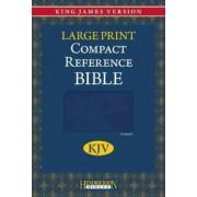 Compact Reference Bible-KJV-Large Print by Hendrickson Bibles