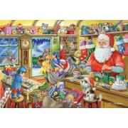 2010 Christmas Edition No.5 1000 Piece Jigsaw Puzzle - Santa's Workshop by The House of Puzzles
