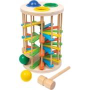 Věž s kuličkami na zatloukání