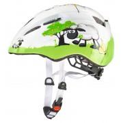 UVEX kid 2 Kask Dzieci zielony/biały Kaski rowerowe