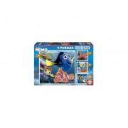 Puzzle Educa Disney Nemo, 4 in 1