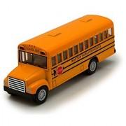 School Bus Boston City Schools 5 inch Opening Door 1:64 Scale Diecast