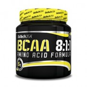 BioTech USA BCAA 8:1:1 ízesítetlen - 300g
