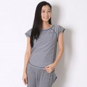 【SALE 52%OFF】アディダス adidas Tシャツ W ワークアウト UV ボーダーTシャツ BIK01 レディース