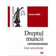 Dreptul muncii. Curs universitar - Romulus Gidro