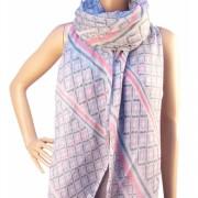 RAYFLECTOR Dámský elegantní šátek vzorovaný barevný