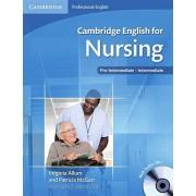 Cambridge English for Nursing - Pre-Intermediate: Student's Book + 2 Audio-CDs