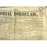 Mémorial Bordelais N°16068, Du 18 Août 1854 : Les Amis Du Czar Et Leurs Arguments - Exposition De L'industrie, 16ème Article, Produits Agricoles