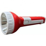 Home Delight 3W Laser LED Emergency Light with Tube LED Torch Red and White