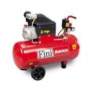 Compresor de aer Fini Amico 50/2400, 230 V, 170 l/min, 8 bar, 50 l