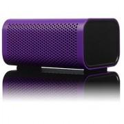 Braven 440 Water Resistant Portable Wireless Bluetooth Speaker with PowerBank (Purple)