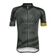 guilty 76 racing Velo Club Pro Race cycling shirt Children black 128 Koszulki dziecięce trykotowe