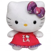 Ty Beanie Babies Hello Kitty Plush, Los Angeles
