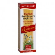 Naturland Herbal Svédkeserű + C-vitamin fogkrém - 100 ml