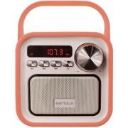 Boxa Portabila Serioux Joy, Bluetooth, Radio FM, miscroSD (Portocaliu)
