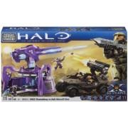 Megabloks Halo UNSC Rockethog vs Anti Aircraft Gun