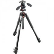 MK190XPRO3-3W Aluminum Tripod with 3-Way Pan/Tilt Hea