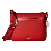 COACH Whls Excl Nylon Crossbody SvTrue Red