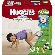 HUGGIES Little Movers Diaper Pants Size 6 42 Count
