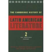 The Cambridge History of Latin American Literature: Twentieth Century v.2 by Enrique Pupo-Walker
