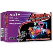 Light Up Building Construction Set - Laser Pegs - Dune Buggy Set (31 Lighted Pieces)