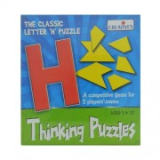 Creative Pre-School - Thinking Puzzles- Letter Puzzle- H