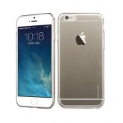 Husa silicon Usams Primary Series negru transparent pentru Apple iPhone 6 Plus/6s Plus Blister
