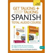 Get Talking and Keep Talking Spanish Total Audio Course by Angela Howkins