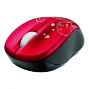 Myš TRUST Vivy Wireless Mini Mouse - Red (17355)