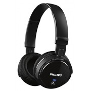 Philips SHB5500BK Wireless Bluetooth Headphones (Black)