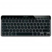 Teclado Logitech K810 Bluetooth Iluminado PC Tablet Inalambrico - Negro