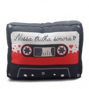 Almofada Fita Cassete K7 Nossa Trilha