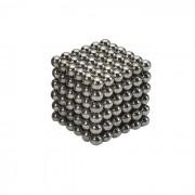 4.7~4.9mm Neodymium NIB Magnet Spheres with Steel Case - Black (216-Piece Pack)