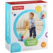 Детска играчка за бутане - слонче с топчета, Fisher Price, 172041