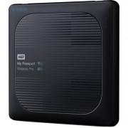 Hard disk extern Western Digital My Passport Wireless Pro 3TB 2.5 inch USB 3.0 Black