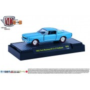 1965 FORD MUSTANG GT 2+2 FASTBACK * Detroit Muscle Release 32 * M2 Machines 2015 Castline Premium Edition 1:64...