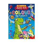 Bumper Junior Art Colour by Numbers