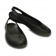 【セール実施中】【送料無料】オリビア 2.0 フラット ウィメン Women's Crocs Olivia II Flat サンダル 202826 001 Black