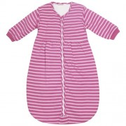 JOJO Maman Bébé Confort - Saco para bebé rosa rosa/fucsia a rayas Talla:0 a 6 meses