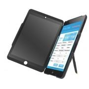 Carcasa LEITZ Complete Privacy cu filtru de confidentialitate portrait pentru iPad mini - negru