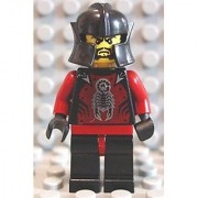 LEGO Castle Shadow Knight Le Chevalier des Ombres from Castle of Morcia